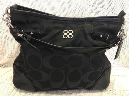 Authentic Coach Colette Black Bag (Reduced Price) #GayaRaya