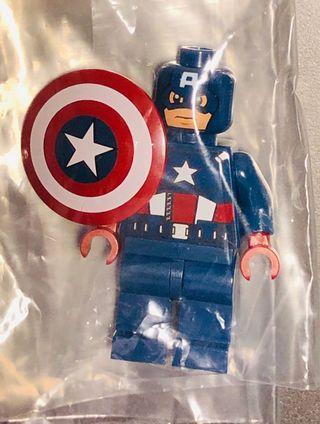 Lego Marvel Superhero Avengers 6865 Captain America minifigure 不設面交