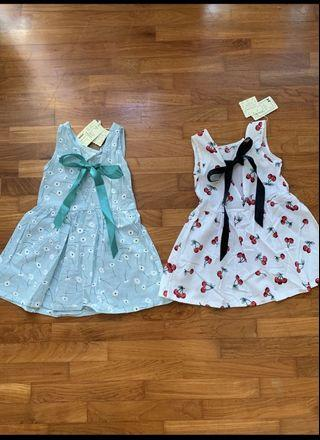 2 for $9.90!! Baby Girl Dress for age 2-4 yrs old