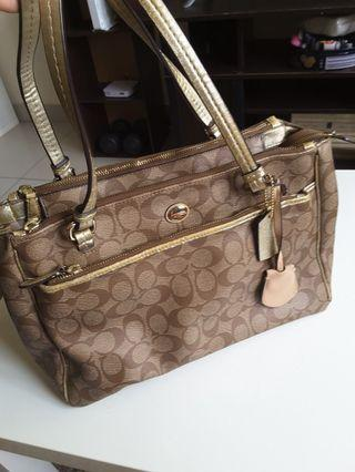 Authentic Coach New York Bag(reduced priced)