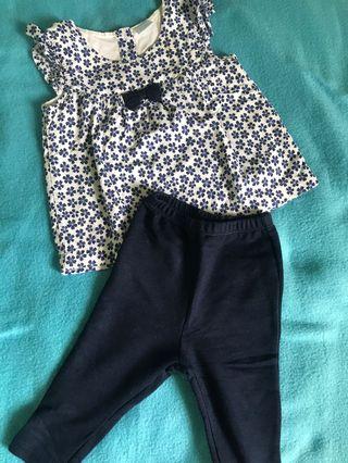 Intellective Baby Girls Romper Suit Next 3-6 Months