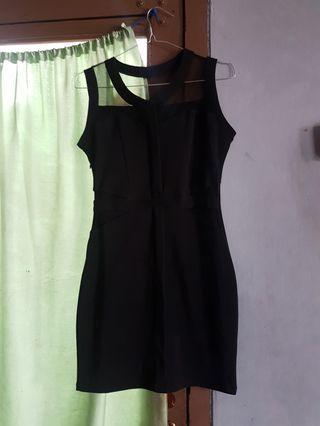 Sexy Black Night Dress