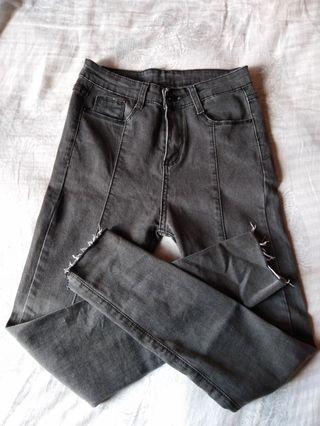 Black/grey jeans