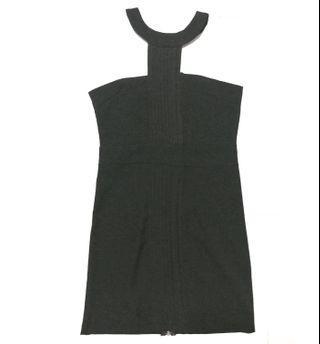 Black Halter Neck Bodycon Dress (PRICE REDUCED)