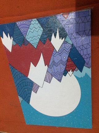 #BAPAU Hiasan dinding