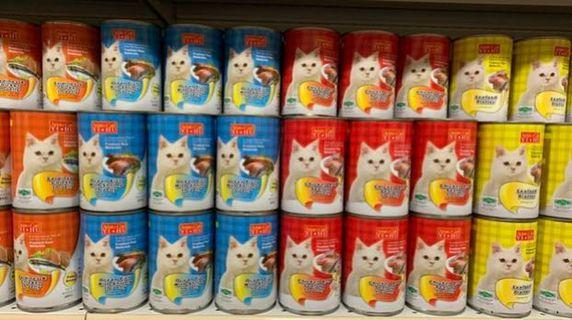 Selling Cheap! 24cans of 400grams Large Can Cat Food *you can mix the flavours