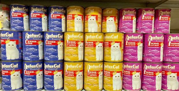 Selling Cheap! AATAS -24cans of 400grams Large Can Cat Food *you can mix the flavours