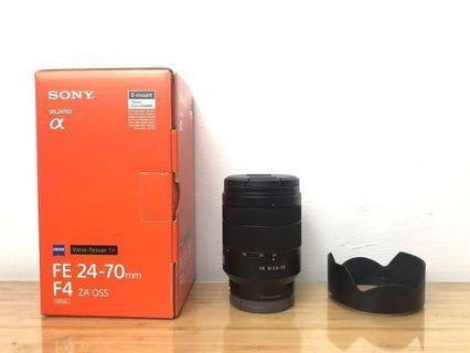 Sony FE 24-70mm f/4 ZA OS