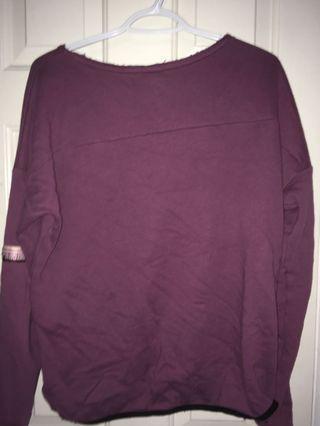 Purple PINK sweatshirt