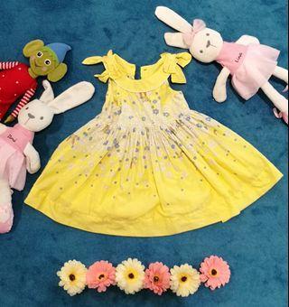 Baby girl dress party dress baju raya baby