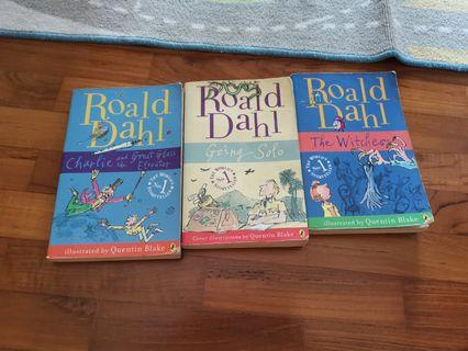Roald Dahl books for sales
