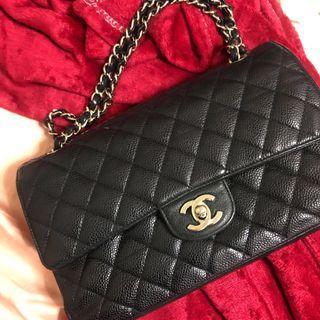 Chanel Classic Medium Flap SHW