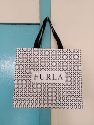 🚚 Furla Paper Bag with Free Mail