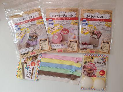 Craft kit - Cartonnage Kits and Macaron Pouch Supplies