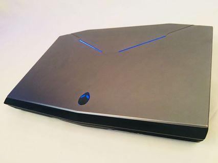 Alienware Gaming laptop intel i7 17inch