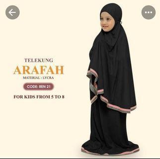 Telekung Lycra Arafah For Kids