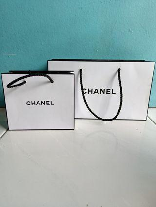 Chanel Paper Bag with Free Mail