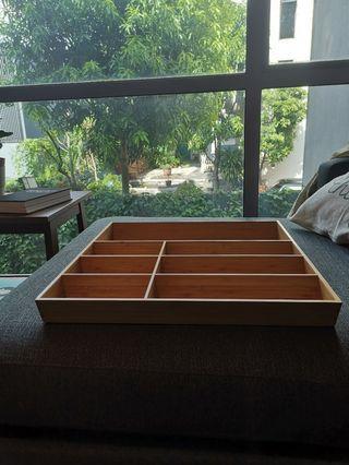 🚚 BN IKEA Variera Bamboo Shelf Organizer / Cutlery Tray