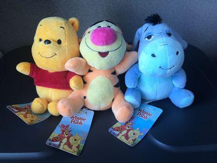 Disney Winnie The Pooh, Tigger, Eeyore