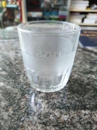 Vintage wine crystal  n sandblast glass