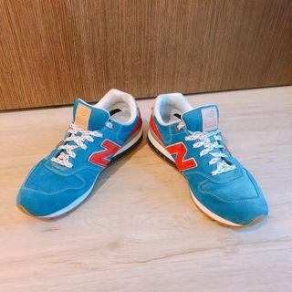 New Balance 996 Blue Red Sneakers Shoes