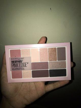 Maybelline Pallete The City Kits Pink Edge