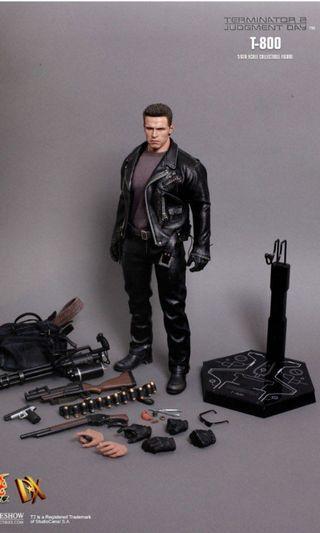 🚚 Hot Toys DX10 Terminator 2 T-800