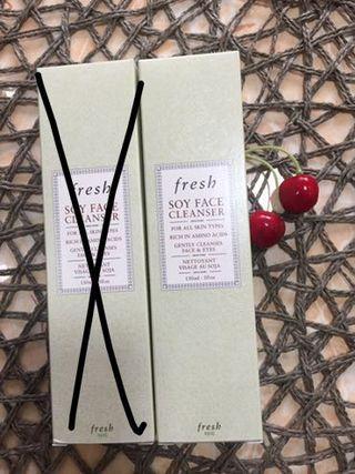 Fresh Soy Face Cleanser 150ml