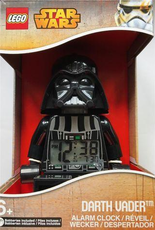 LEGO Star Wars Darth Vader Light Up Alarm Clock (New in Unopened Box)