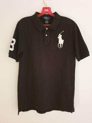 Polo Ralph Lauren Big Pony Icon Black Polo Shirt