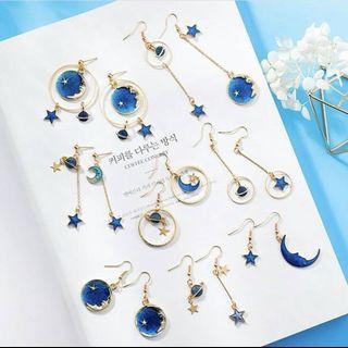 🚚 💫[Preorder]💫 Asymmetric earrings