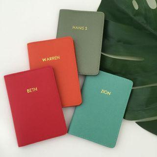 Personalised Passport Holder