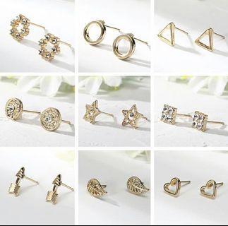 🚚 💫[Preorder]💫 Geometric earrings