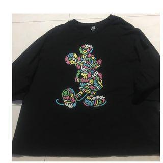 Uniqlo Mickey Mouse top L