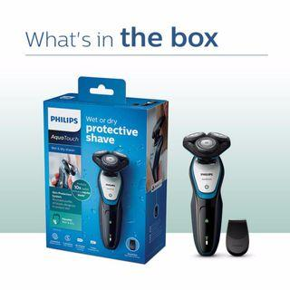 Philips AquaTouch S5070/04 Mens Electric Cordless Wet And Dry Shaver