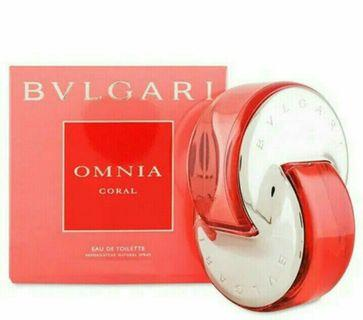 BVLGARI Omnia CORAL 寶格麗晶艷女性淡香水/1瓶/5ml-新品正貨