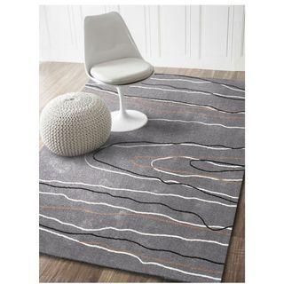 Modern Gray | Contemporary Rug | Living Bedroom | Carpet