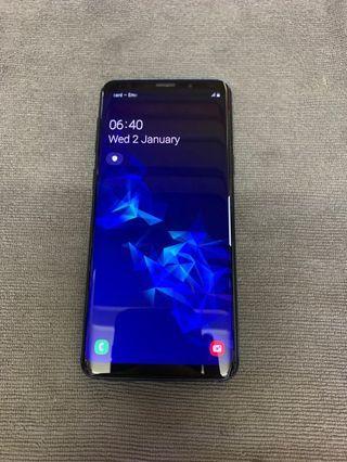 Samsung Galaxy S9 coral blue