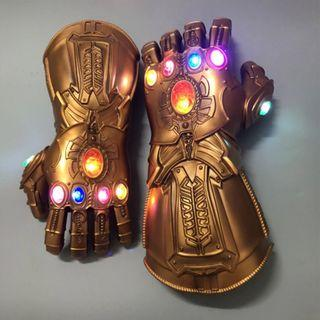 Pre-Order Infinity Gauntlet Cosplay Gloves with LED (for Kids and Adult)