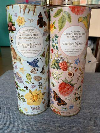 Crabtree and Evelyn Biscuit Tin