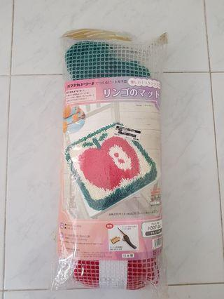 Craft kit - Hamanaka mat kit (latch hook)