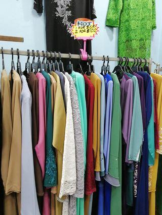 🚚 Assorted long dress 2 for 100