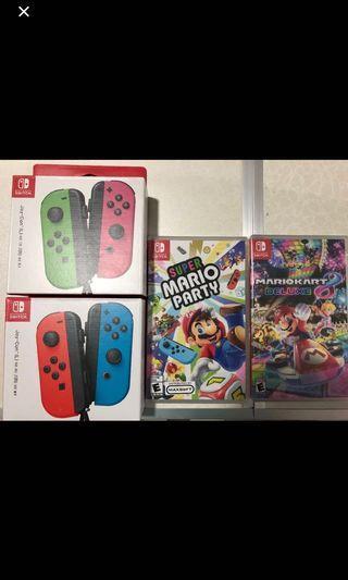 Nintendo Switch Games & Joycon