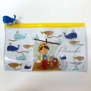 香港7-11 7-Eleven Disney Pinocchio 童夢 隨行 木偶奇遇記長方形系列隨行袋 包郵