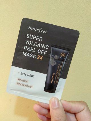 Super Volcanic Peel Off Mask 2x