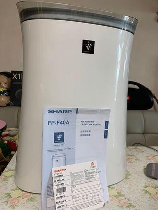 Sharp 空氣清新機 FP F40A