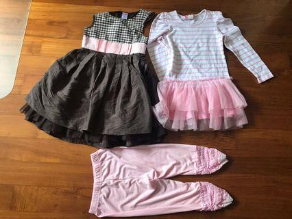 (PLEASE READ) Gymboree Dress & Tunic Set Bundle