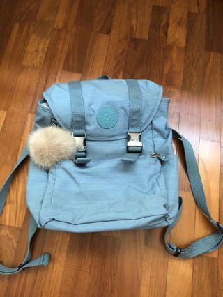 Kipling blue backpack