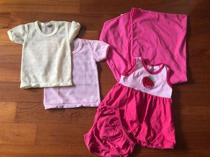 PLEASE READ - Breastfeeding Shawl Baby Clothes Bundle