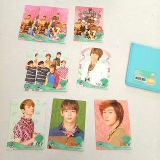 SHINee World II Concert Trading Cards